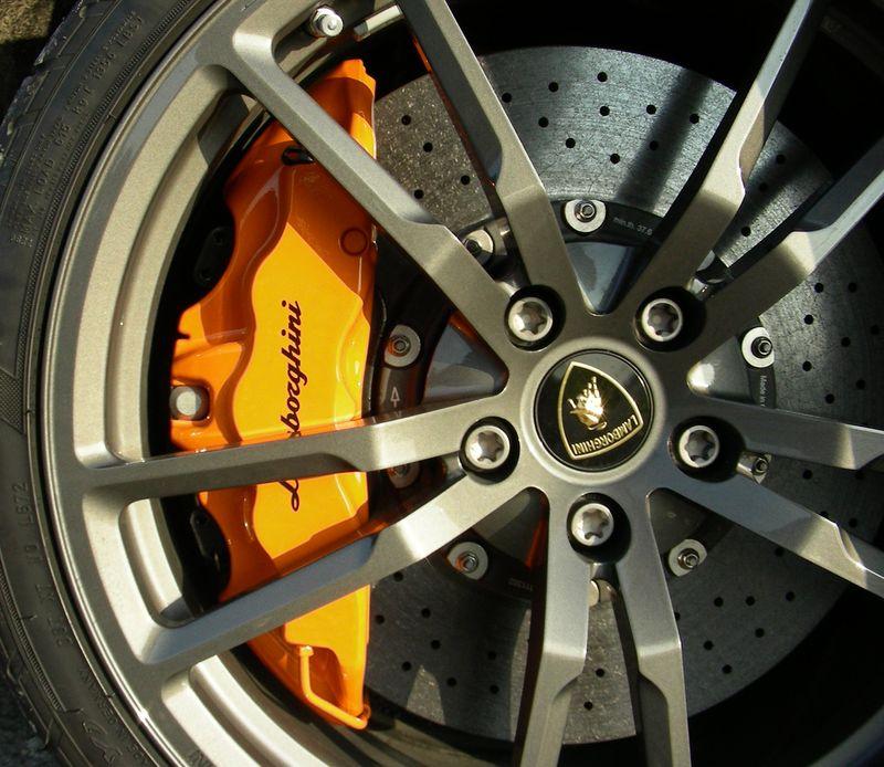 Lambo Gallardo Super Brakes